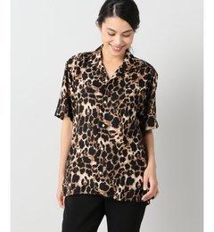 【ジャーナルスタンダード/JOURNAL STANDARD】 【Gitman Brothers/ギットマンブラザーズ】 pajama shirt leopard:シャツ [送料無料]