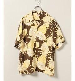 SUN SURF / サンサーフ : ISLAND PINEAPPLE RAYON ALOHA【ジャーナルスタンダード/JOURNAL STANDARD メンズ シャツ・ブラウス ブラウン ルミネ LUMINE】