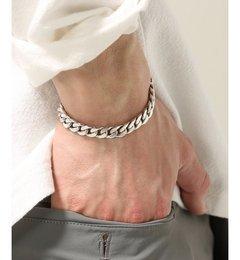 LAVER / ラバー : Curb Chain T Bar bracelet【ジャーナルスタンダード/JOURNAL STANDARD ブレスレット・バングル】