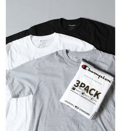 【ジャーナルスタンダード/JOURNAL STANDARD】 Champion×JS 別注3Pack Tシャツ/チャンピオン [3000円(税込)以上で送料無料]