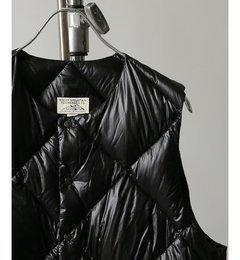 人気ファッションメンズ|【ジャーナルスタンダード/JOURNAL STANDARD】 ROCKY MOUNTAIN FEATHERBED×JS クルーネックダウンベスト [送料無料]