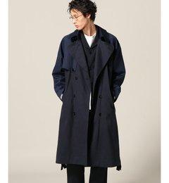 Dima Leu/ディマレウ: style 2.03 blue coat【ジャーナルスタンダード/JOURNAL STANDARD メンズ トレンチコート ネイビー A ルミネ LUMINE】