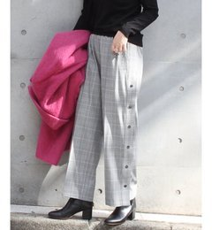 【ジャーナルスタンダード/JOURNAL STANDARD】 【OKIRAKU/オキラク】xL'ESSAGE タックパンツ◆ [送料無料]
