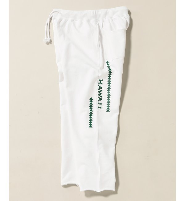 HAWAII UNIV JS SWEAT PANTS / ハワイ大学別注【ジャーナルスタンダード/JOURNAL STANDARD メンズ その他(パンツ) ホワイト ルミネ LUMINE】