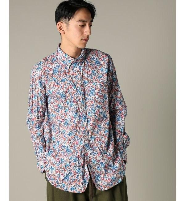 Engineered Garments / エンジニアードガーメンツ : 19C BD Shirt - Garde【ジャーナルスタンダード/JOURNAL STANDARD メンズ シャツ・ブラウス ネイビー B ルミネ LUMINE】