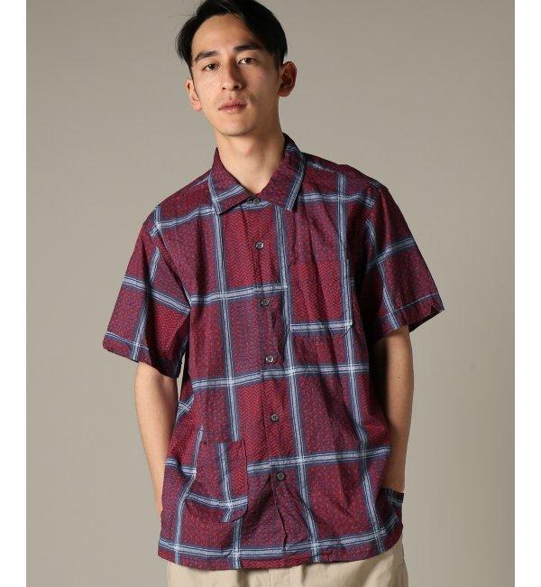 Engineered Garments / エンジニアードガーメンツ : Camp Shirt - Afghan【ジャーナルスタンダード/JOURNAL STANDARD メンズ シャツ・ブラウス レッド ルミネ LUMINE】