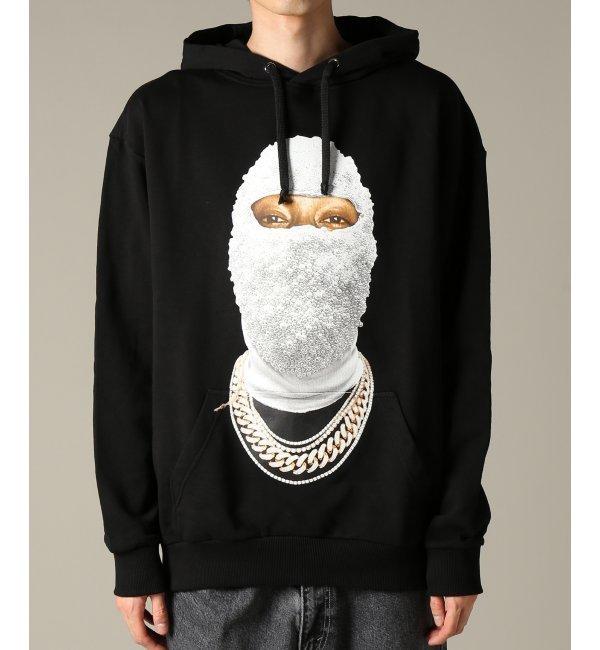 IH NOM UH NIT / インノミネイト : HOODED SWEATSHIRT FACEGOLD【ジャーナルスタンダード/JOURNAL STANDARD メンズ Tシャツ・カットソー ブラック ルミネ LUMINE】
