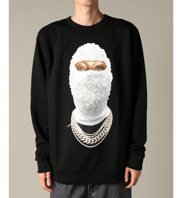 IH NOM UH NIT / インノミネイト : SWEATSHIRT FACE GOLD【ジャーナルスタンダード/JOURNAL STANDARD メンズ Tシャツ・カットソー ブラック ルミネ LUMINE】