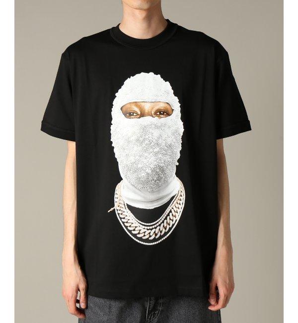 IH NOM UH NIT / インノミネイト : T-SHIRT FACE GOLD - LOG【ジャーナルスタンダード/JOURNAL STANDARD メンズ Tシャツ・カットソー ブラック ルミネ LUMINE】