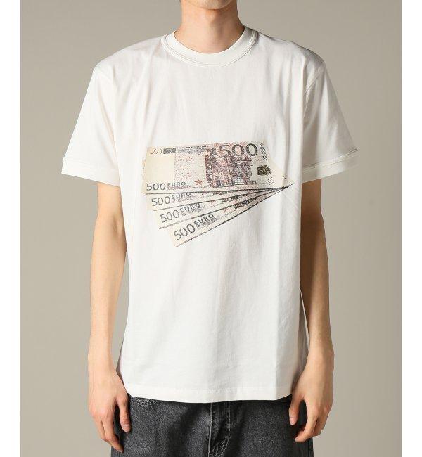 IH NOM UH NIT / インノミネイト :T-SHIRT EURO - LOGO【ジャーナルスタンダード/JOURNAL STANDARD メンズ Tシャツ・カットソー ホワイト ルミネ LUMINE】