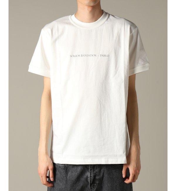 IH NOM UH NIT / インノミネイト : T-SHIRT SOMOS BANDIDOS【ジャーナルスタンダード/JOURNAL STANDARD メンズ Tシャツ・カットソー ホワイト ルミネ LUMINE】