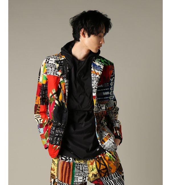 Engineered Garments / エンジニアードガーメンツ : Baker Jacket - Afric【ジャーナルスタンダード/JOURNAL STANDARD メンズ その他(ジャケット・スーツ) アソート K ルミネ LUMINE】
