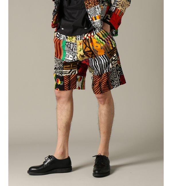 Engineered Garments / エンジニアードガーメンツ : WP Short - African P【ジャーナルスタンダード/JOURNAL STANDARD メンズ その他(パンツ) アソート K ルミネ LUMINE】