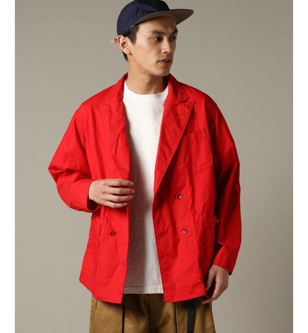 Engineered Garments / エンジニアードガーメンツ : DL Jacket - Malibu Poplin【ジャーナルスタンダード/JOURNAL STANDARD メンズ その他(ジャケット・スーツ) レッド ルミネ LUMINE】