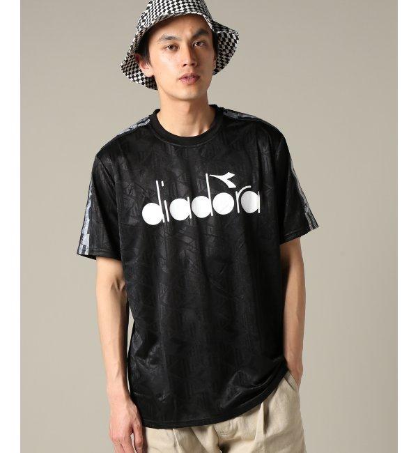 DIADORA / ディアドラ : T-SHIRT SS KICK【ジャーナルスタンダード/JOURNAL STANDARD メンズ Tシャツ・カットソー ブラック ルミネ LUMINE】