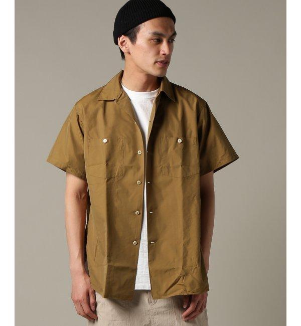KAPTAIN SUNSHINE/ キャプテンサンシャイン : Work Shirt【ジャーナルスタンダード/JOURNAL STANDARD メンズ シャツ・ブラウス グリーン E ルミネ LUMINE】