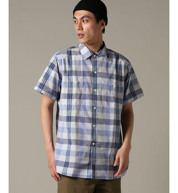 KAPTAIN SUNSHINE / キャプテンサンシャイン :Work Shirt【ジャーナルスタンダード/JOURNAL STANDARD メンズ シャツ・ブラウス ブルー B ルミネ LUMINE】