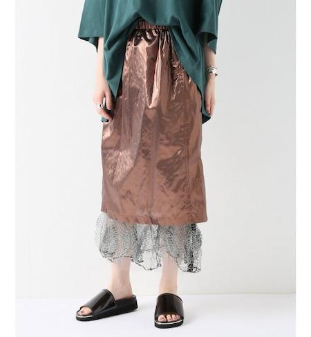 PONTI/ポンティ】TISSUE LAME:スカート(スカート):ジャーナル ...