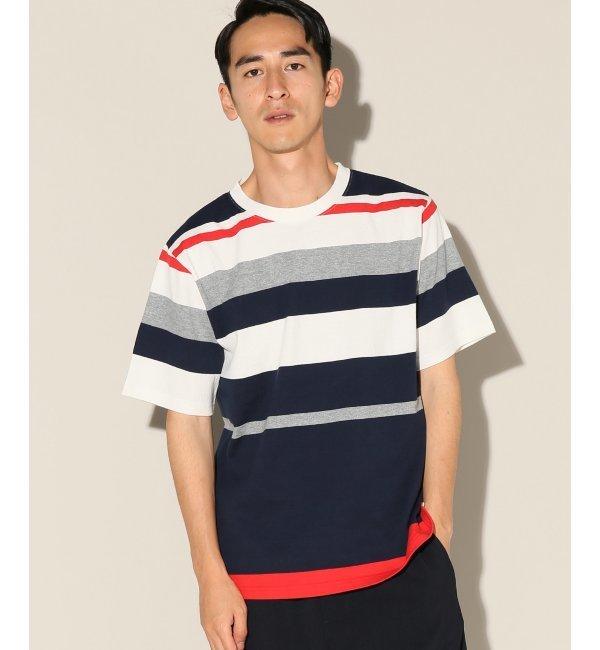 【ジャーナルスタンダード/JOURNAL STANDARD】 32/2 USAコットン ボーダーTシャツ