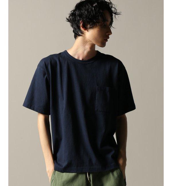 【ジャーナルスタンダード/JOURNAL STANDARD】 14/-TUBE JERSEY WIDE POCKET Tシャツ