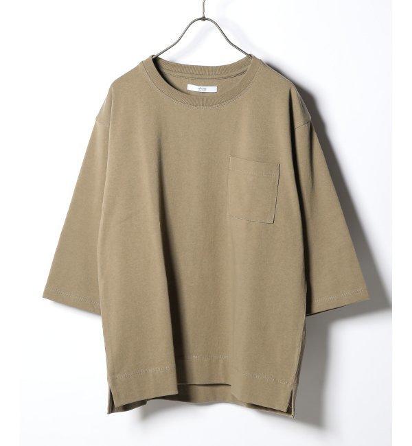 【ジャーナルスタンダード/JOURNAL STANDARD】 20//空紡天竺ヘビーオンス 7分袖Tシャツ
