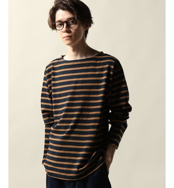 【ジャーナルスタンダード/JOURNAL STANDARD】 21/2 空紡天竺ボーダーロングスリーブTシャツ