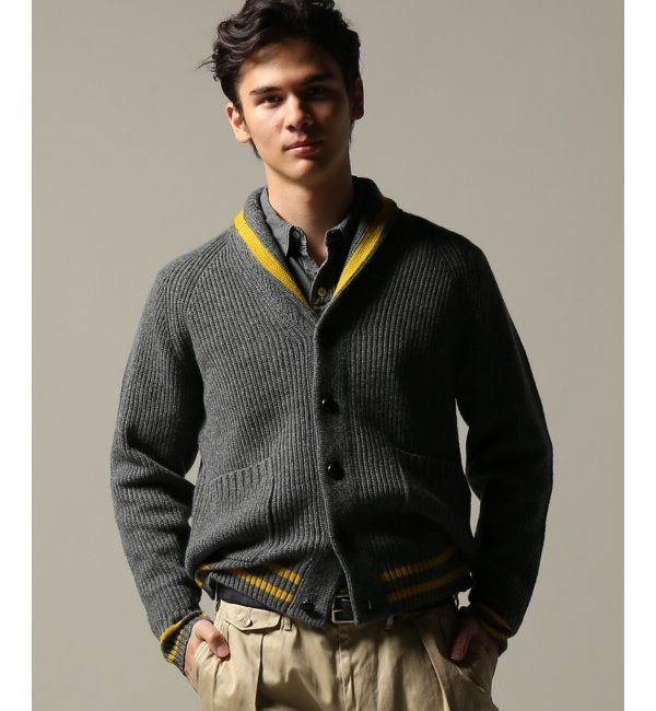 【ジャーナルスタンダード/JOURNAL STANDARD】 J.PRESS/ジェイプレス:Toddduncan 7G/Shawl cardigan