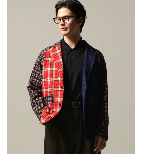 【ジャーナルスタンダード/JOURNAL STANDARD】 J.PRESS/ジェイプレス: Wool etamine tartans/Jacket
