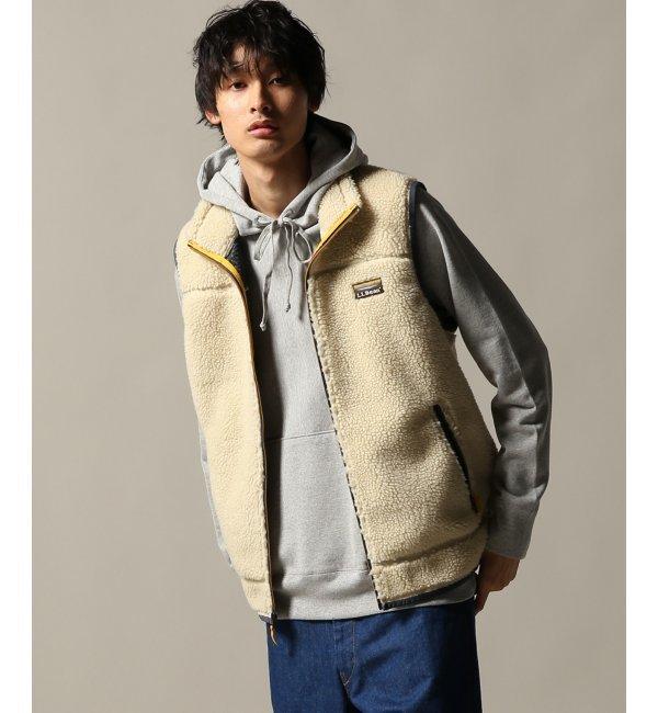 メンズファッションなら|【ジャーナルスタンダード/JOURNAL STANDARD】 L.L.Bean マウンテン パイル フリース ベスト