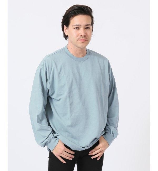 <アイルミネ> LA APPAREL / ロサンゼルスアパレル 6.5oz long Sleeve Garment Dye画像