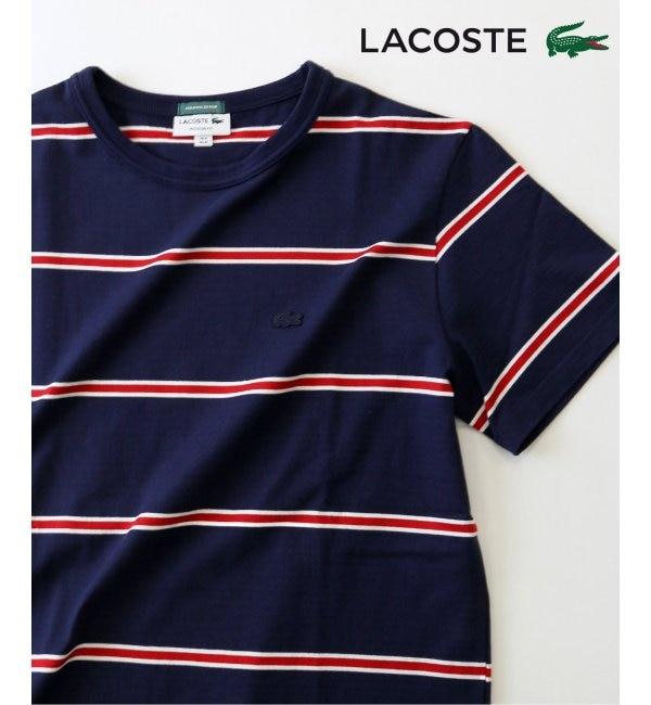 【ジャーナルスタンダード/JOURNAL STANDARD】 《予約》Lacoste / ラコステ : 3COLORボーダーTシャツ