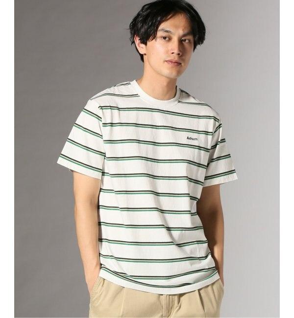 【ジャーナルスタンダード/JOURNAL STANDARD】 Adsum/アドサム: SS Stripe Tシャツ