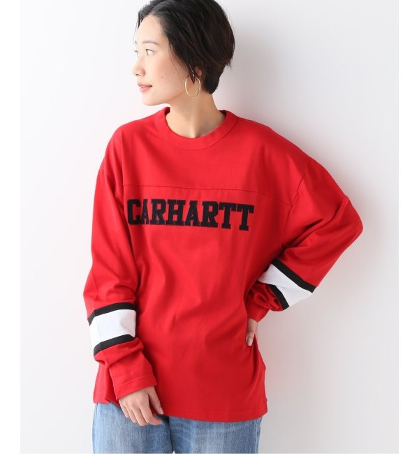 【ジャーナルスタンダード/JOURNAL STANDARD】 【CARHARTT / カーハート】 L/S THORPE COLLEG T-SHIRT:Tシャツ