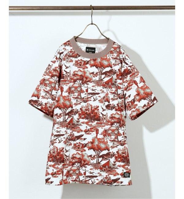【ジャーナルスタンダード/JOURNAL STANDARD】 Snow Peak×relume / 別注スノーピーク Super Dry PRINTED Tシャツ