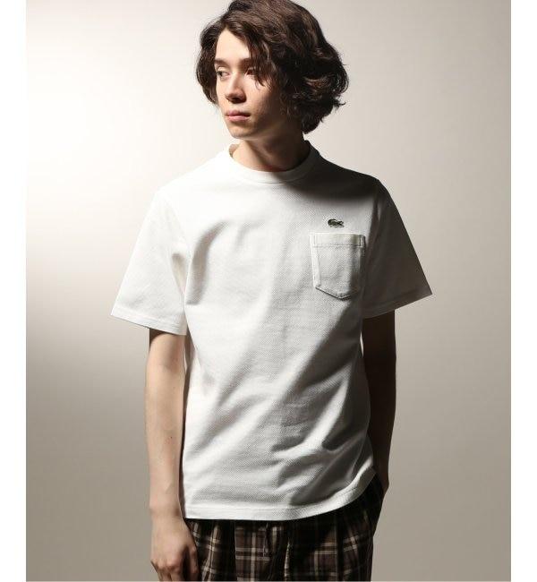 【ジャーナルスタンダード/JOURNAL STANDARD】 LACOSTE / ラコステ HEAVY PIQUE クルーTシャツ SOLID