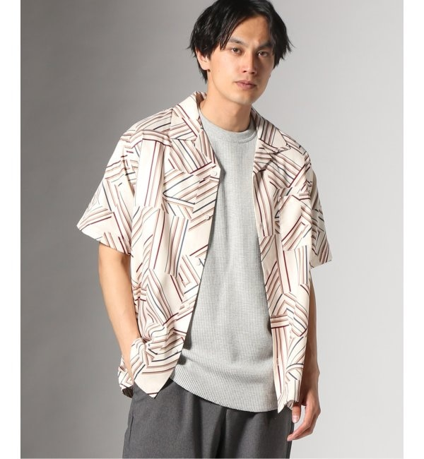 【ジャーナルスタンダード/JOURNAL STANDARD】 GEOM PATTERN PRINT OPEN シャツ