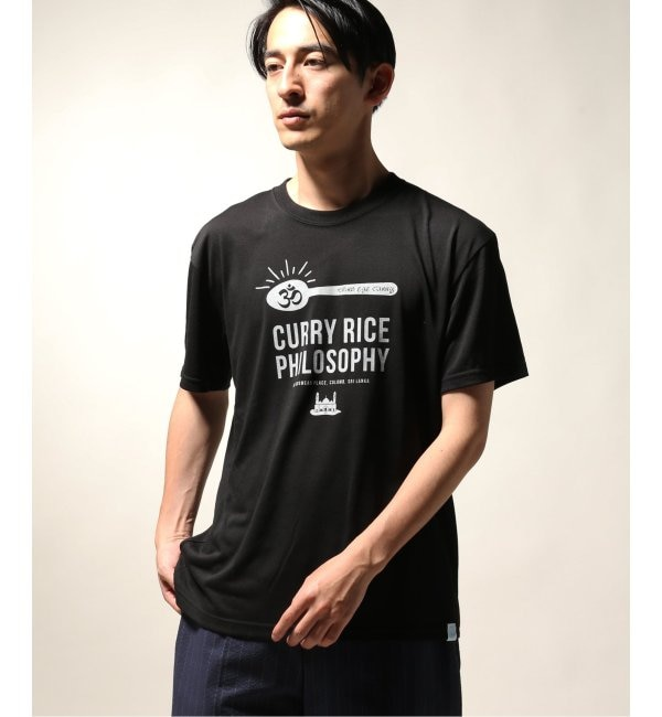【ジャーナルスタンダード/JOURNAL STANDARD】 BAMBOO SHOOTS / バンブーシュート Curry Rice Philosophy Tee