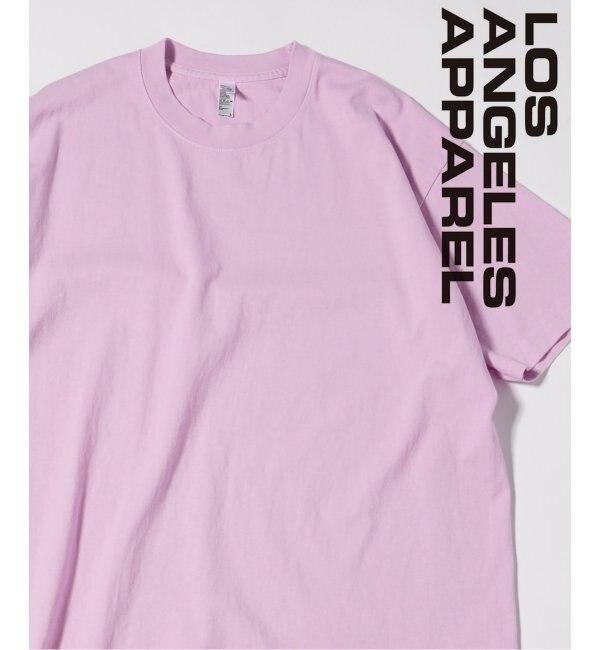 <アイルミネ> LA APPAREL / ロサンゼルスアパレル 6.5oz Garment Dye Pastel Crew画像