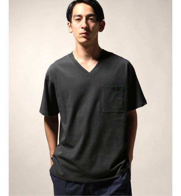 【ジャーナルスタンダード/JOURNAL STANDARD】 40/2 キョウネンテンジクVネックTシャツ