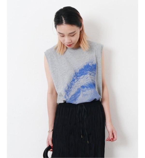 【ジャーナルスタンダード/JOURNAL STANDARD】 【6397/シックススリーナインセブン】*LESSAGE WAVE N/S TEE:Tシャツ◆