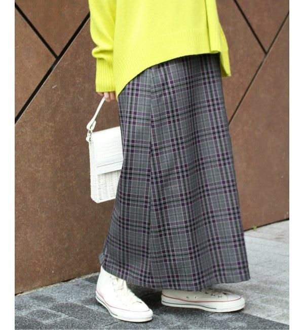 【ジャーナルスタンダード/JOURNAL STANDARD】 Pチェックラップスカート