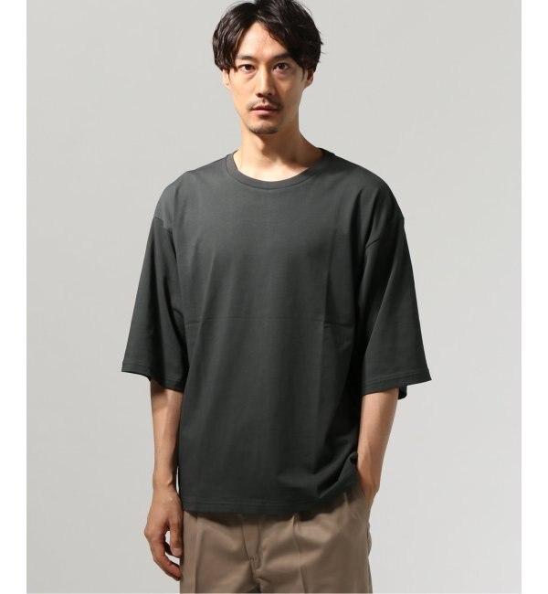 【ジャーナルスタンダード/JOURNAL STANDARD】 40/2キョウネン クルーネック エルボースリーブ Tシャツ
