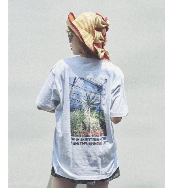 【ジャーナルスタンダード/JOURNAL STANDARD】 SKIN / スキン PLANT PRINT Tシャツ
