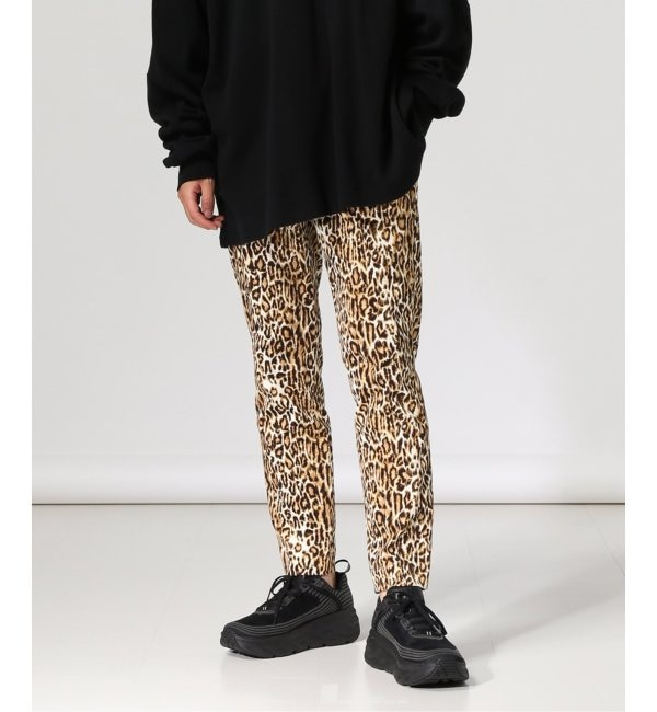 【ジャーナルスタンダード/JOURNAL STANDARD】 NUMBER M/ ナンバーエム : LEOPARD PATTERN PANTS