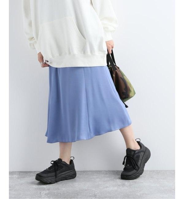 【ジャーナルスタンダード/JOURNAL STANDARD】 ヴィンテージサテンフレアスカート