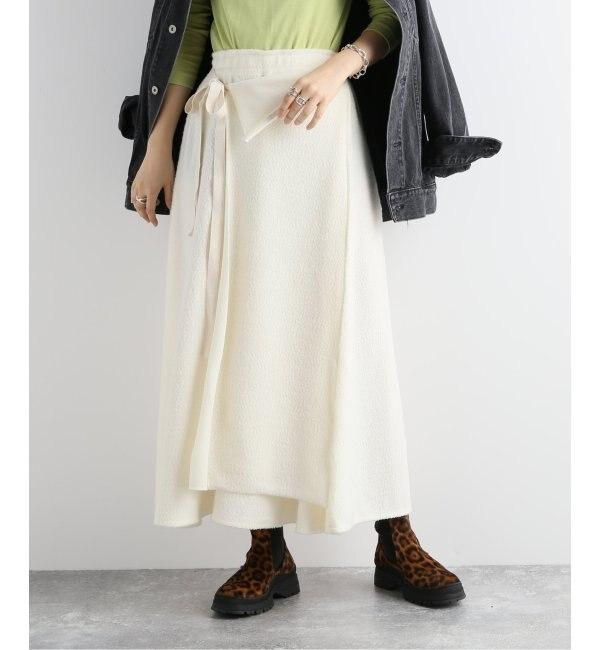 【ジャーナルスタンダード/JOURNAL STANDARD】 【R JUBILEE/アール ジュビリー】WRAP LONG SKIRT:スカート