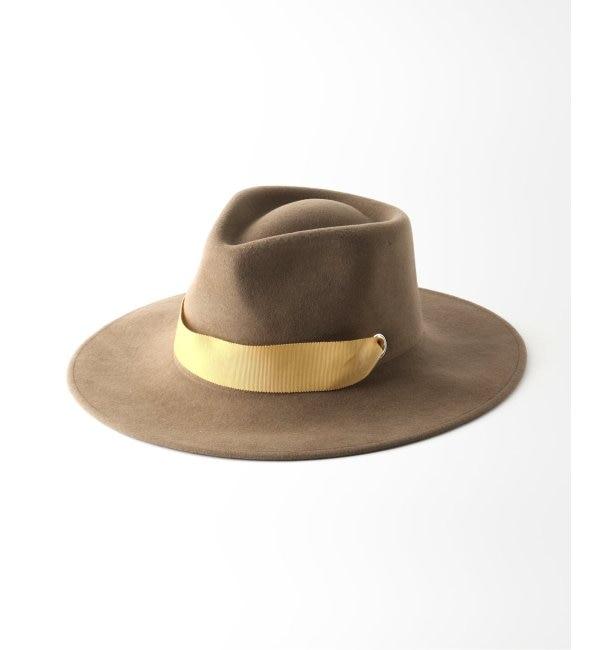 【ジャーナルスタンダード/JOURNAL STANDARD】 【SENSI STUDIO / センシスタジオ】Felted hat with ribbon:ハット