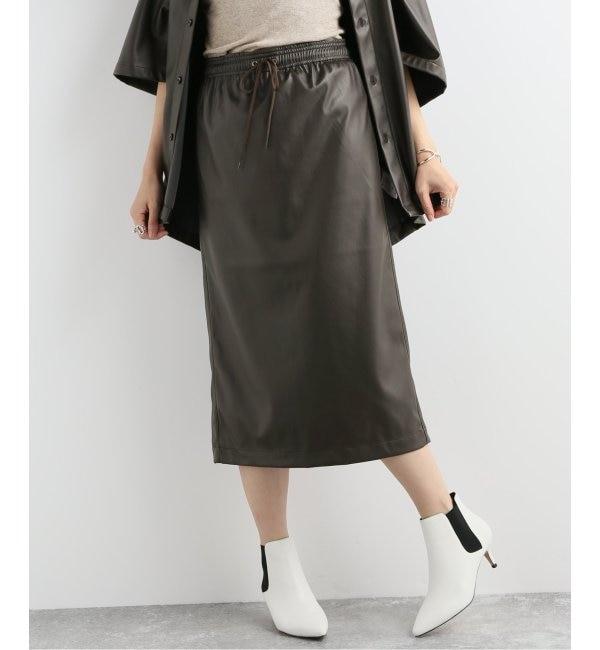 【ジャーナルスタンダード/JOURNAL STANDARD】 KEN-YOUシンフェイクレザースカート