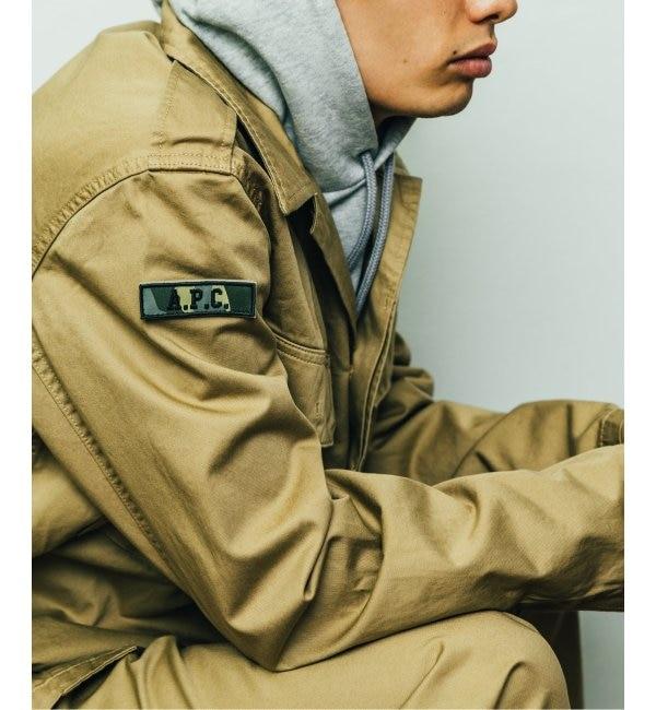 【ジャーナルスタンダード/JOURNAL STANDARD】 【A.P.C. for relume / 別注アーペーセー】 VEST ARMY DUKE