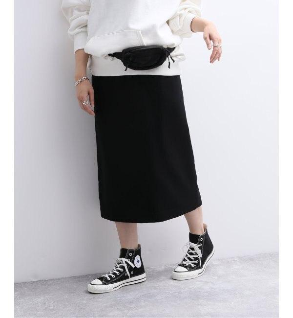 【ジャーナルスタンダード/JOURNAL STANDARD】 ウールレーヨンタイトスカート